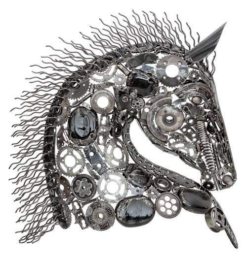 La sculpture en métal : une décoration esthétique, unique et éthique